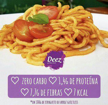 Kit semanal Espaguete Guiltless - Pacotes de 100g
