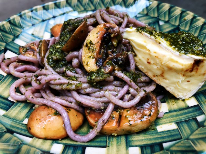 Espaguete OUTUBRO ROSA Guiltless com hibísco e gengibre 200g