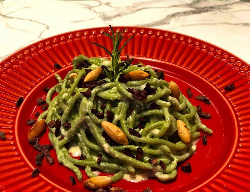 Espaguete Guiltless com spirulina 200g