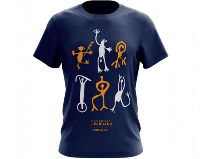Camiseta Peruaçu Azul Marinho