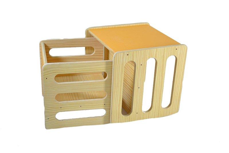 Kit: 2 Cadeiras Cubos