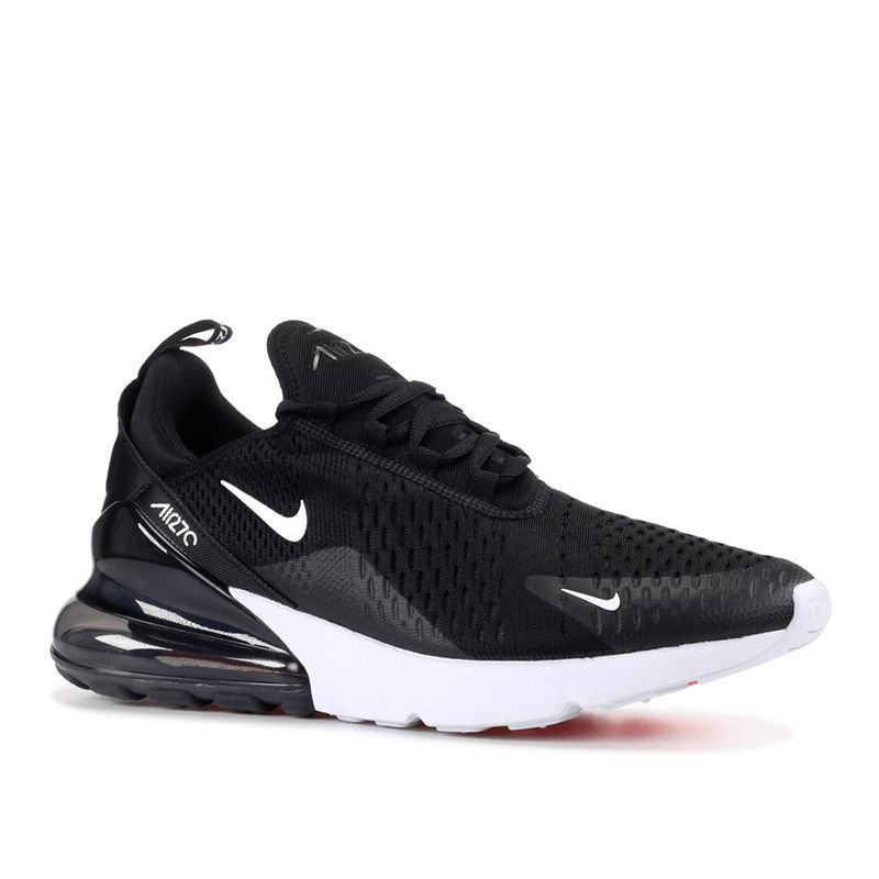 f90443d6091 Tênis Nike Air Max 270 Preto e Branco Masculino Frete Grátis. Tênis Nike  Air Max ...