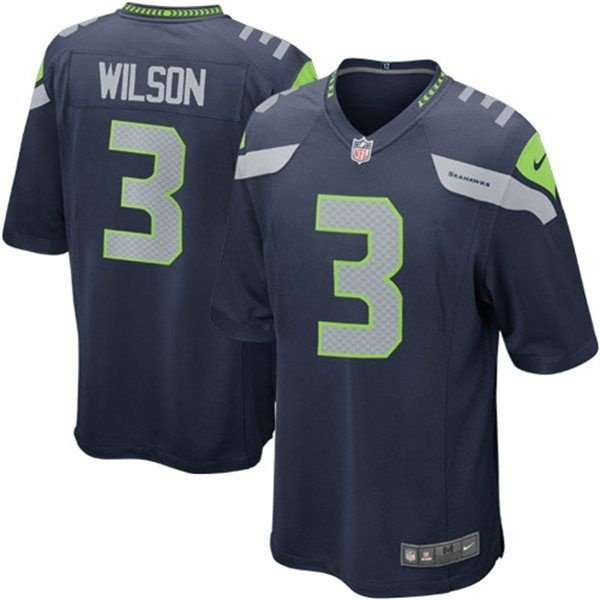 Camisa Seattle Seahawks Russel Wilson 3 Game - FIRST DOWN - Produtos ... e20ff5fb078