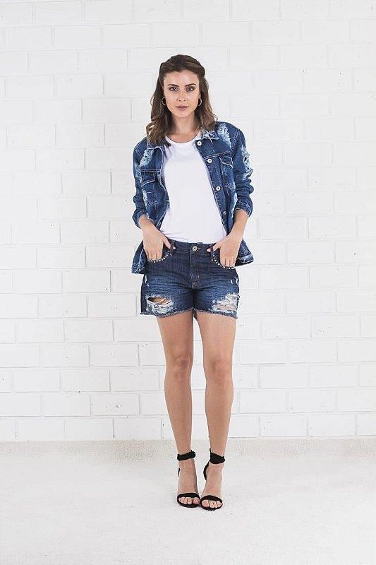 Shorts Jeans Tachinhas