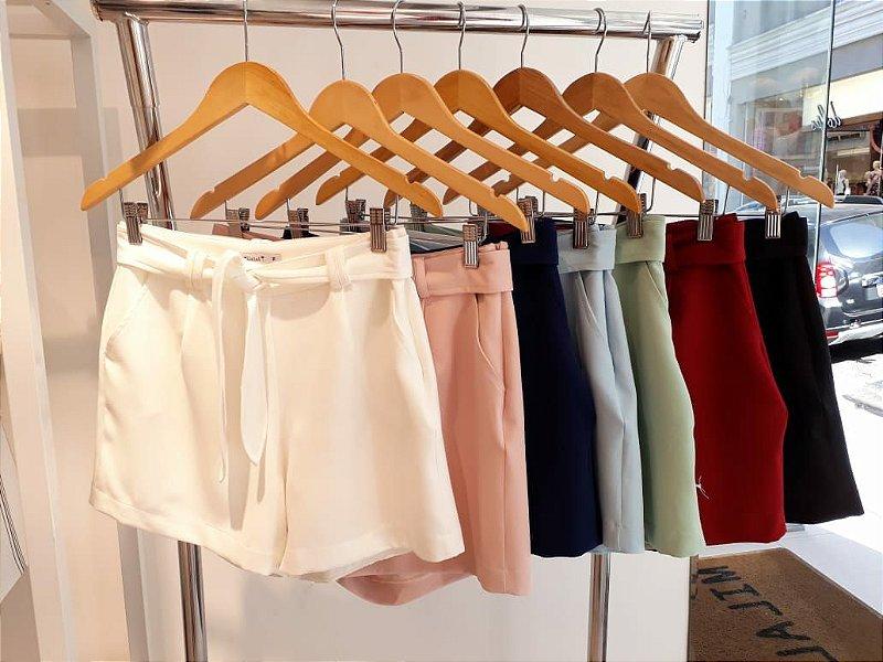 Shorts Cinto Faixa
