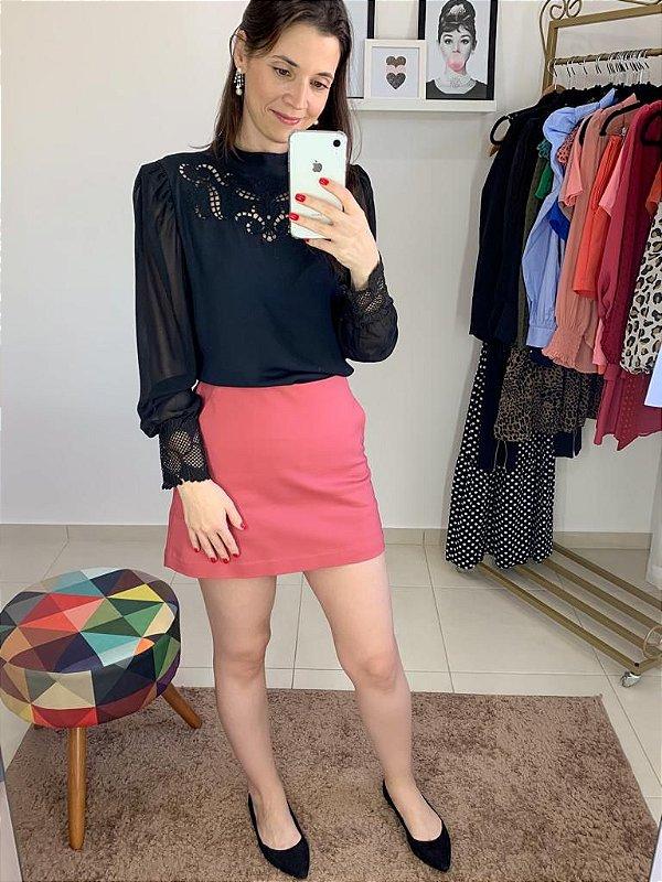 Shorts Saia Liso