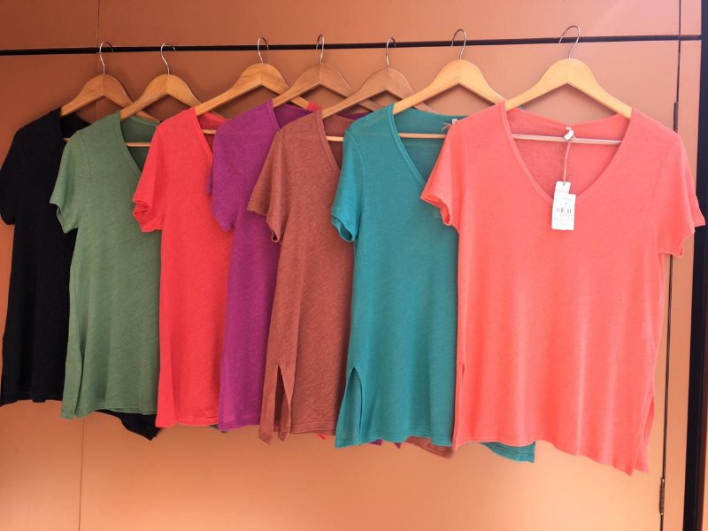 T-shirt Podrinha - cores