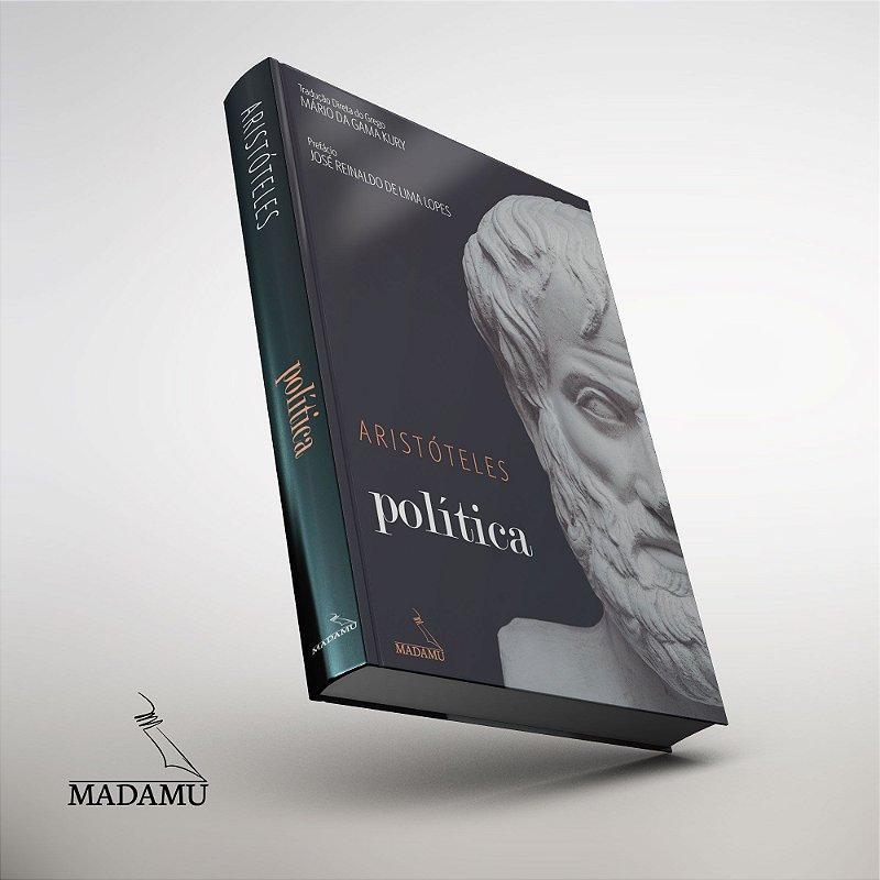 CAPA DURA - Política - Aristóteles - tradução direta do grego por Mário da Gama Kury