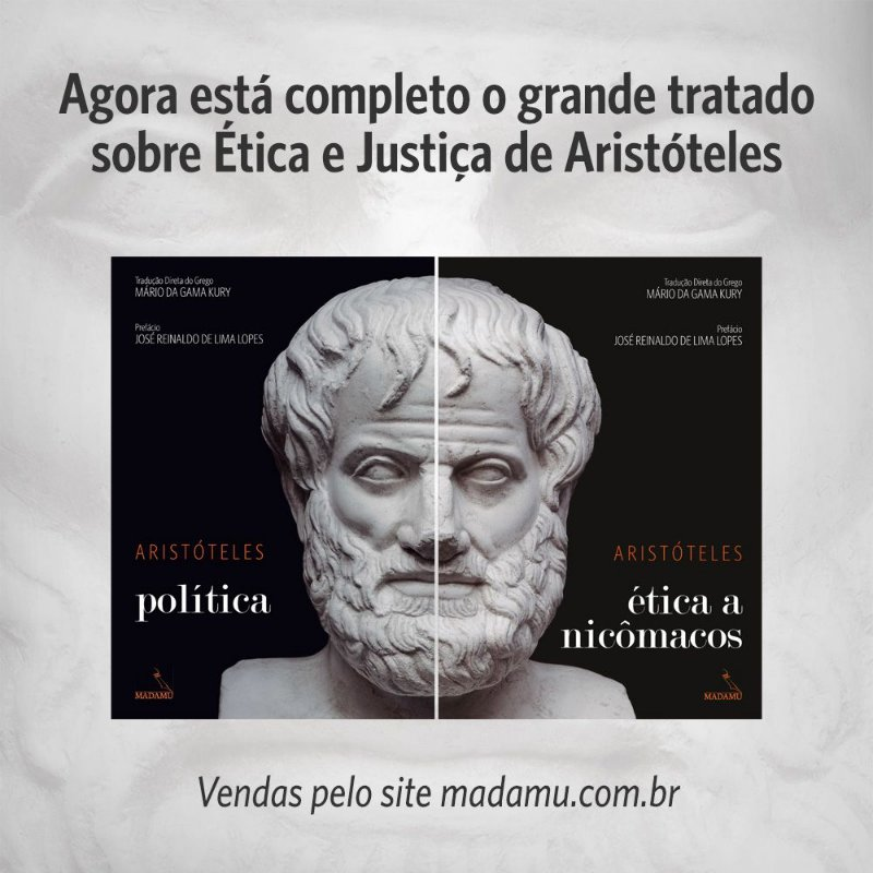 COMBO - CAPA DURA - Política + Ética a Nicômacos - Aristóteles | Tradução direta do grego por Mário da Gama Kury