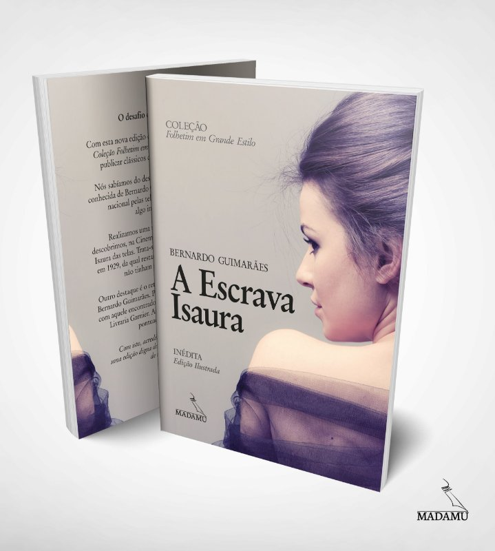 A Escrava Isaura - Bernardo Guimarães - Edição ilustrada - Letras Grandes
