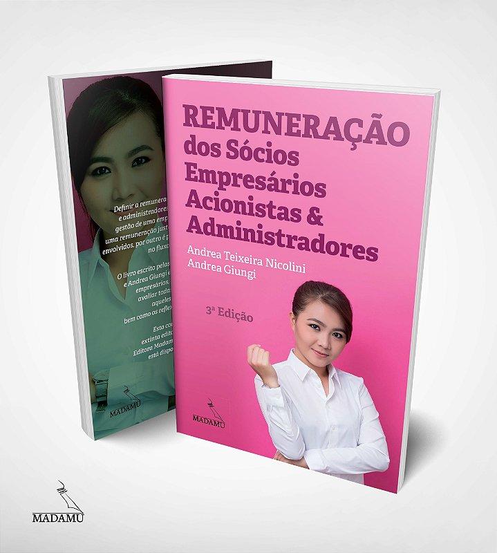 Remuneração dos Sócios, Empresários, Acionistas e Administradores - 3a. Ed. - CAPA ROSA