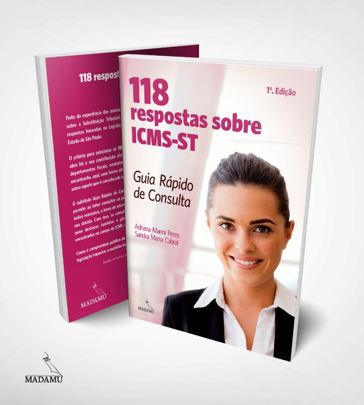 118 respostas sobre ICMS-ST - Guia Rápido de Consulta - CAPA ROSA
