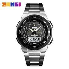 a786d591e40 Relógio Esportivo Masculino Skmei 1370 Prata a Prova de água - Vl ...