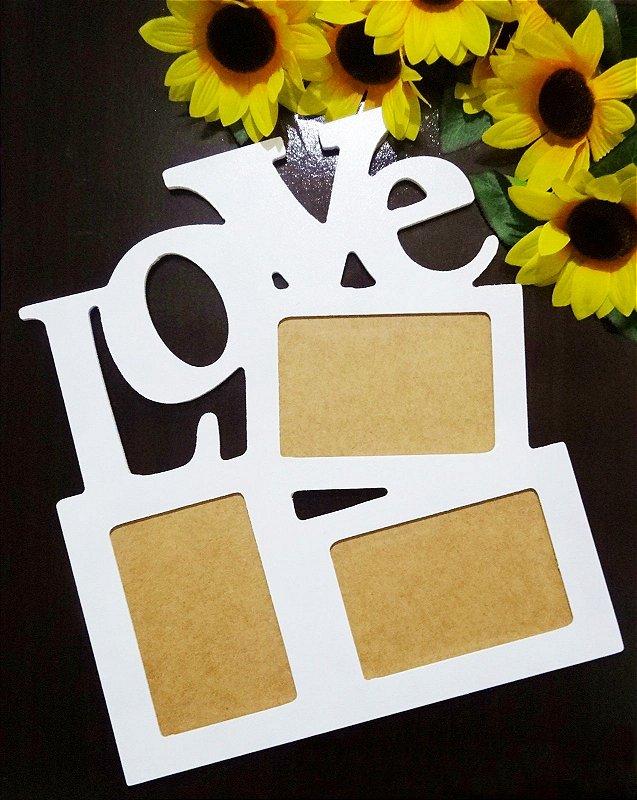 Porta-retrato Love