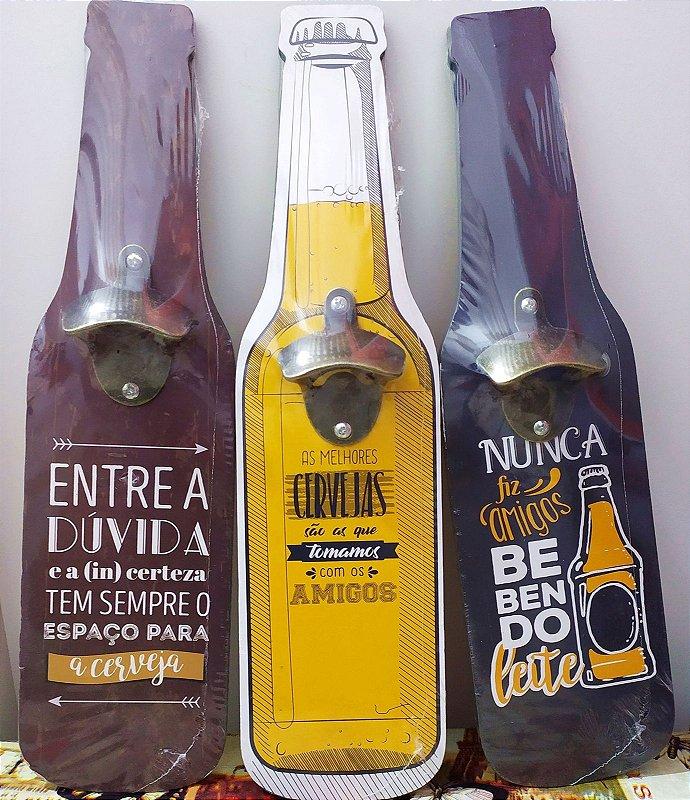 Quadro abridor de garrafa
