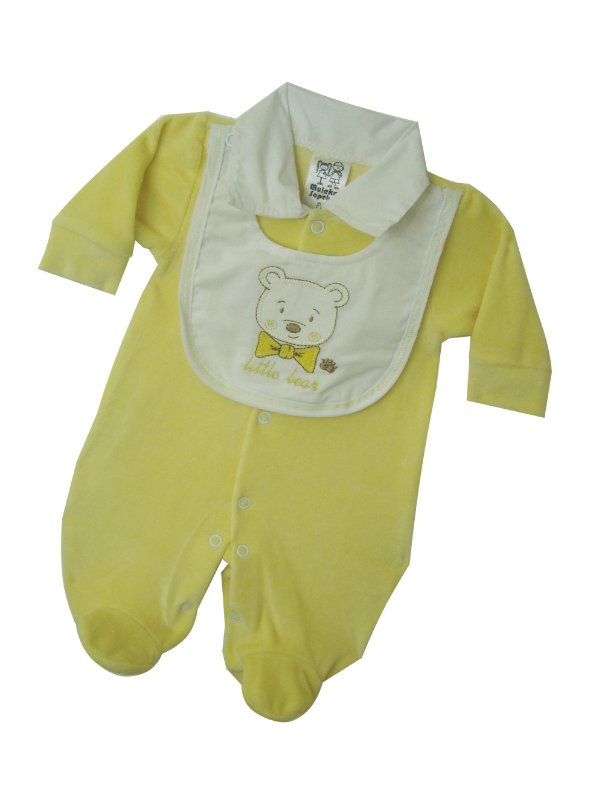 e67436a370 Macacão de Plush para Prematuro - Ursinho Amarelo em até 3x Sem Juros na  Multivest Baby - Multivest Baby