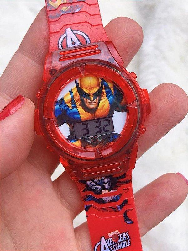 Relógio Personagens - Infantil