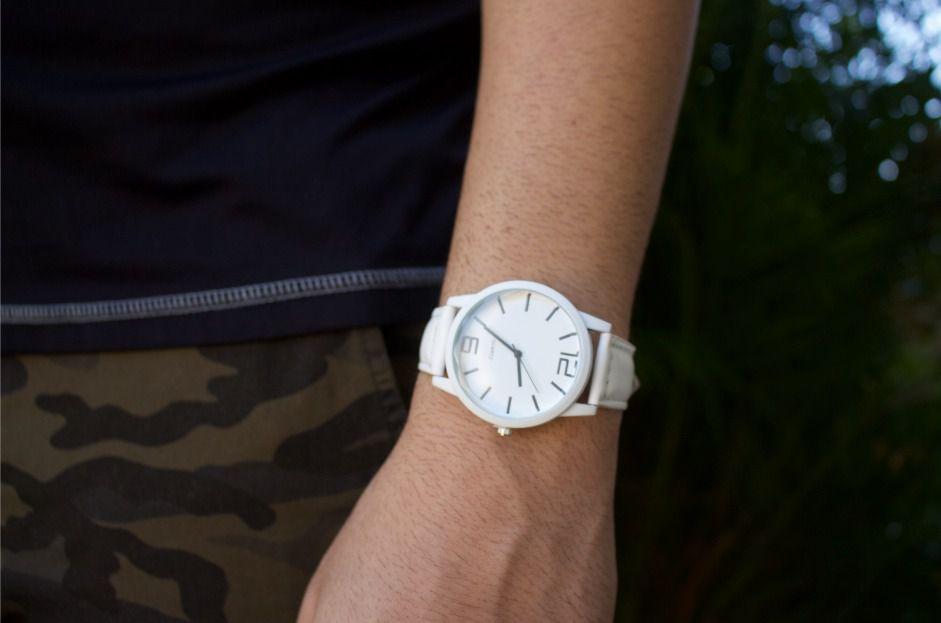 Relógio All White - Ref.: M1