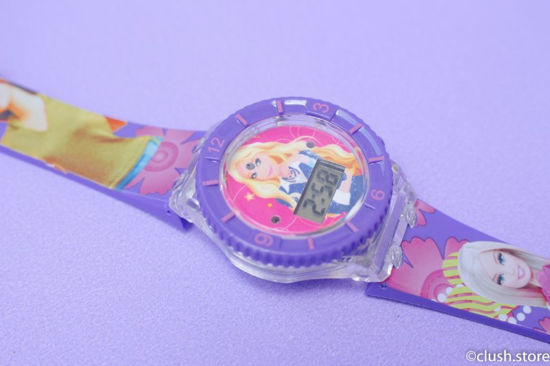 Relógio Barbie 2 - BRILHA NO ESCURO