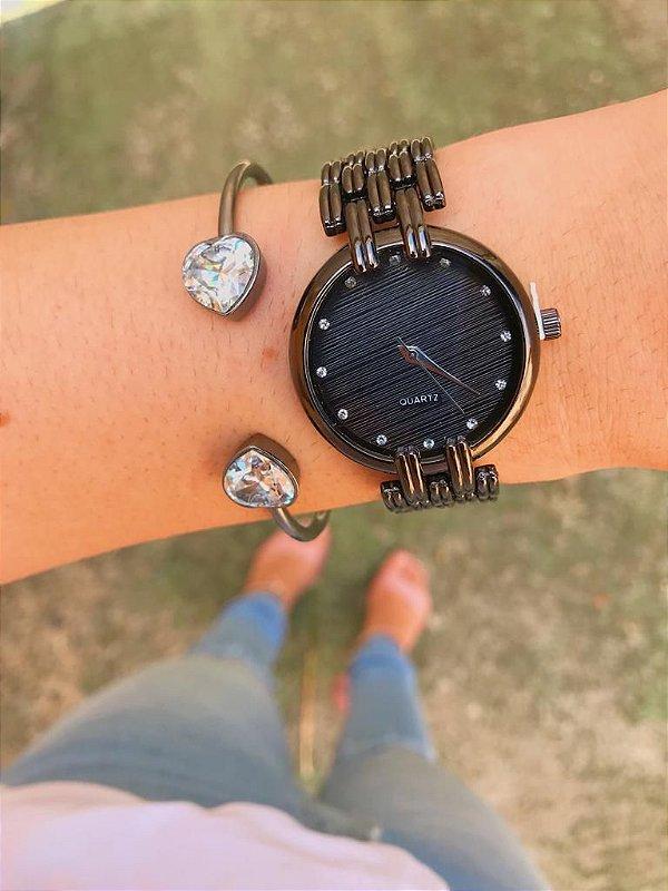 Relógio Petit O - Preto - Ref.: M2
