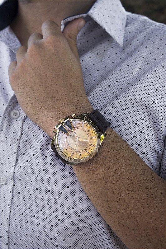 Relógio Brave - Dourado - Ref.: M3