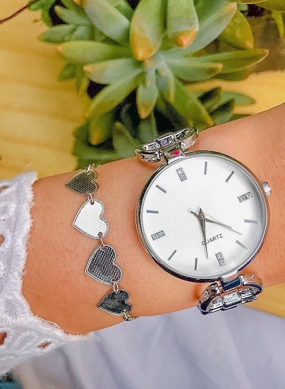 Relógio New Cercle Prata. Ref.M2