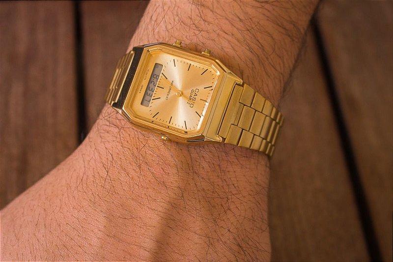 Relógio Casio Vintage - Dourado - Primeira Linha