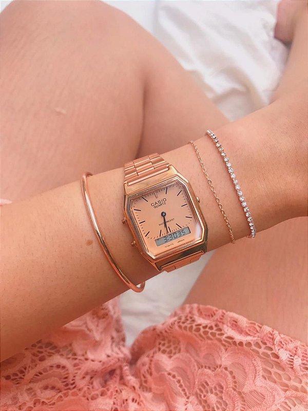 Relógio Casio Vintage - Rose - Primeira Linha