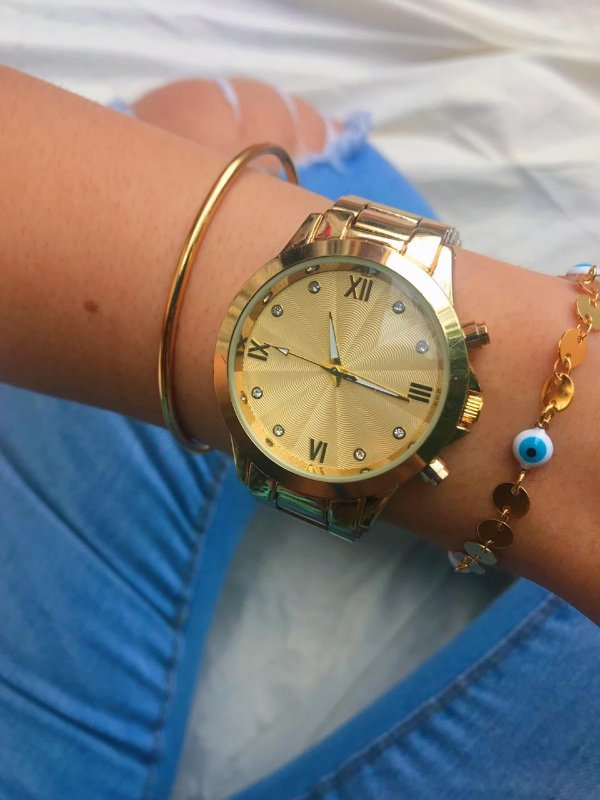 Relógio Paty - Dourado - Ref.: M2