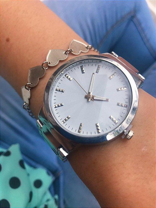 Relógio Marie - Prata - Ref.: M2