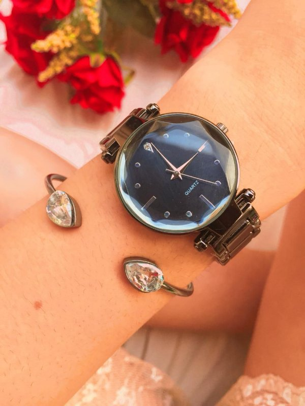 Relógio New Petit - Preto - Ref.: M2