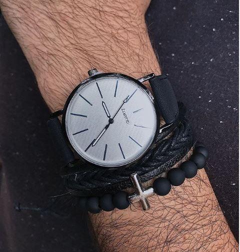 Relógio Classic Homme - P/B - Ref.: M1