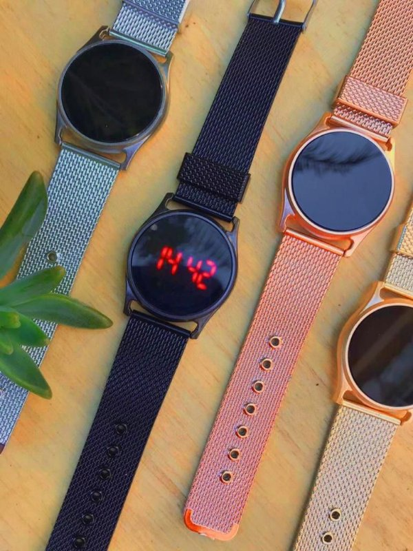 Relógio Digital - Redondo