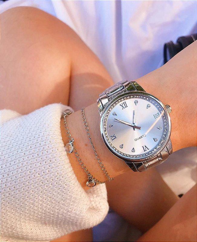 Relógio Joana - Prata - Ref.: M3