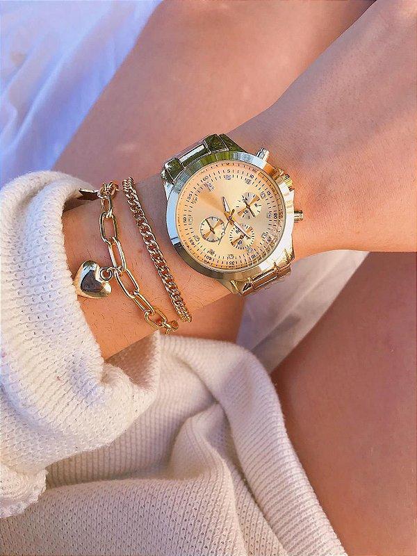 Relógio Adrien - Dourado - Ref.: M3