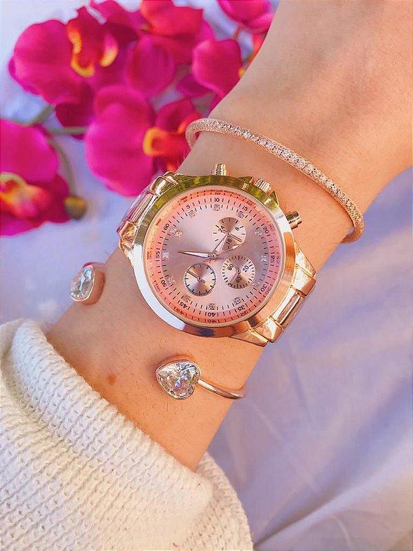 Relógio Adrien - Rose - Ref.: M3