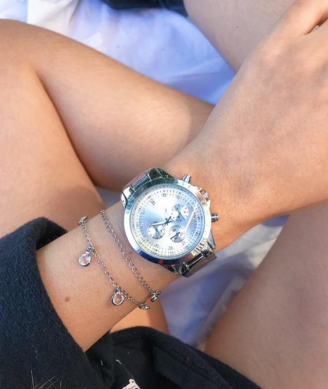 Relógio Adrien - Prata - Ref.: M3