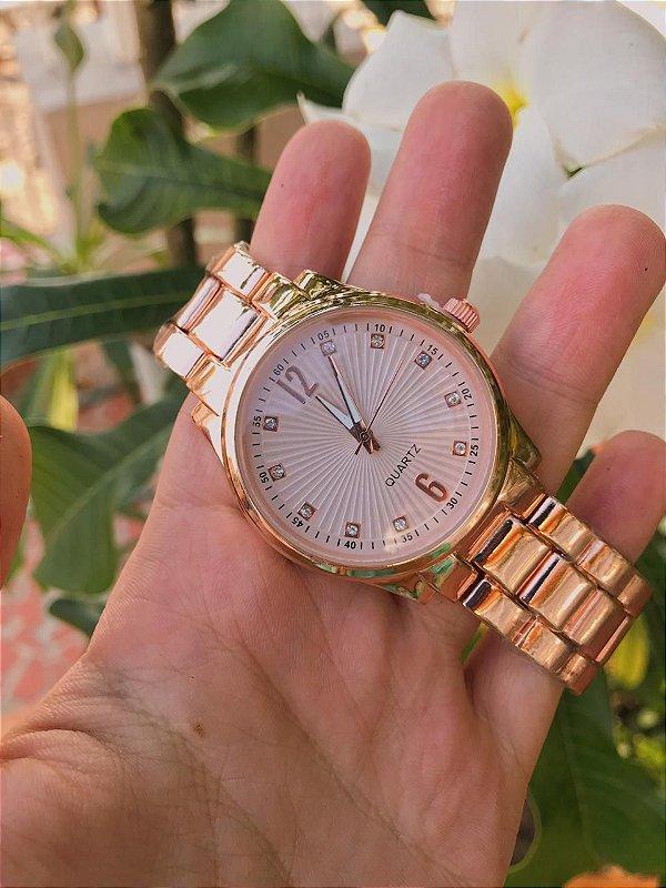 Relógio Priscila - Rose