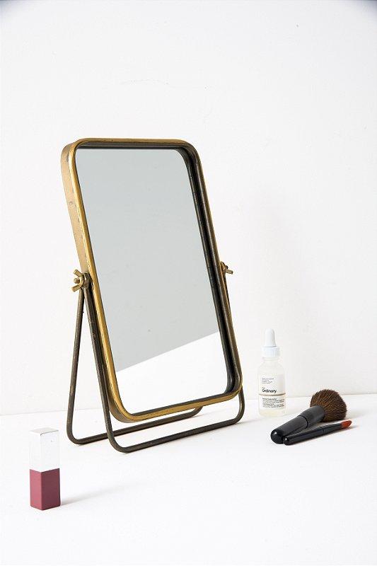 Espelho De Ferro Golden