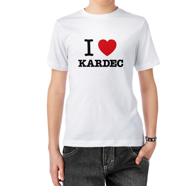Camiseta I Love Kardec