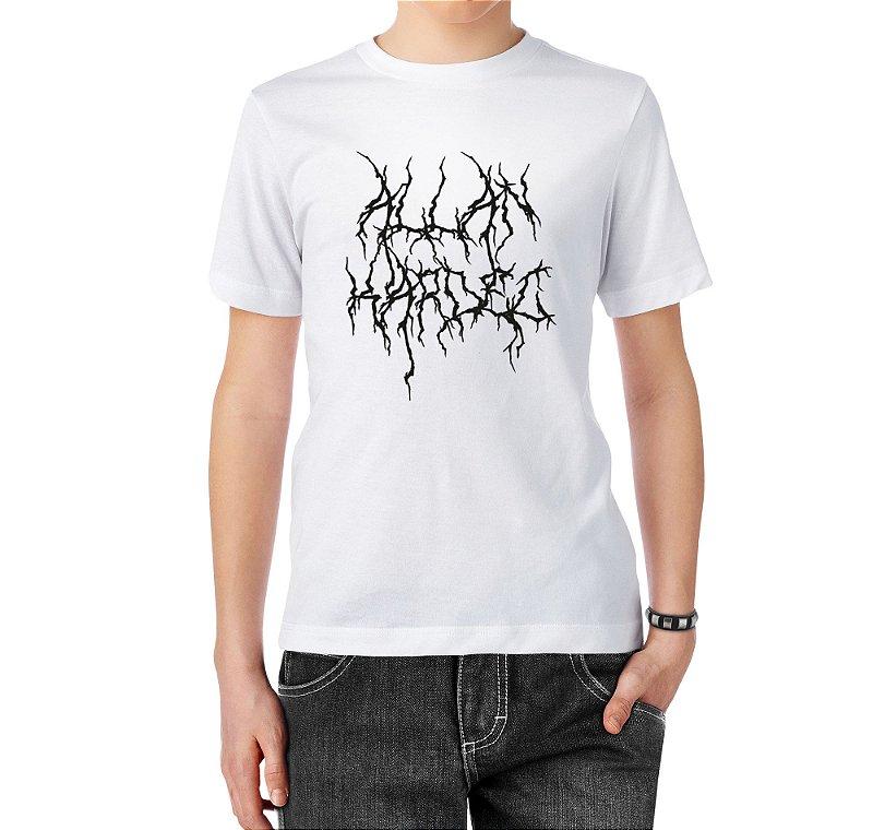 Camiseta Normal Kardec Black Metal