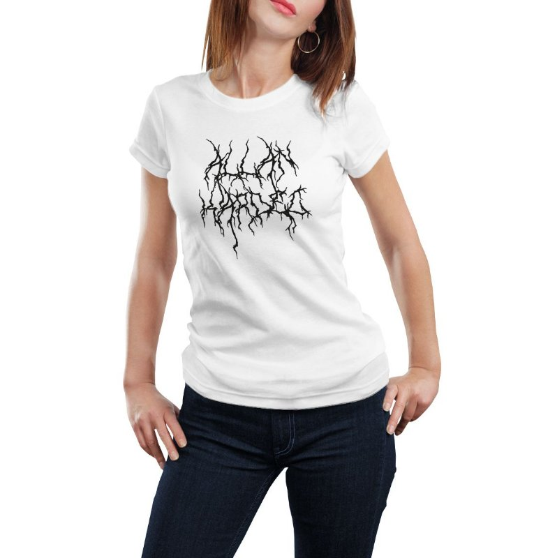 Camiseta Babylook Kardec Black Metal