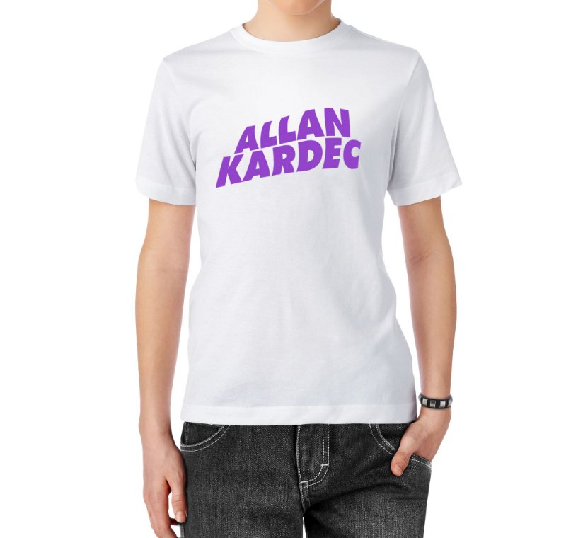 Camiseta Normal Kardec Of Reality