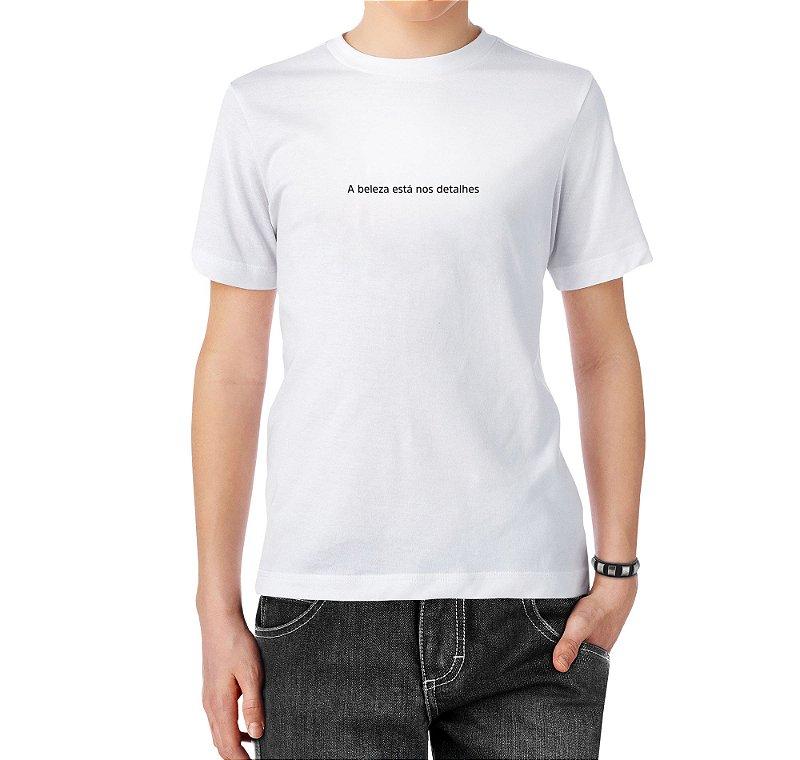 Camiseta Detalhes