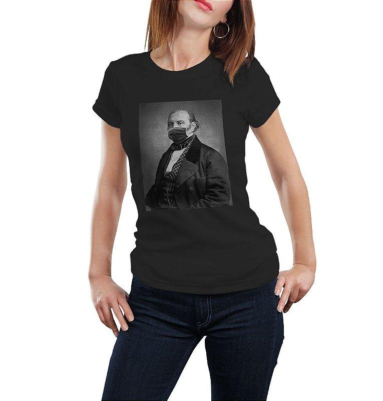 Camiseta Babylook Kardec Máscara