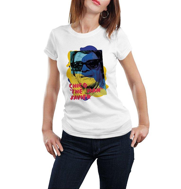 Camiseta Babylook Chico, o cara