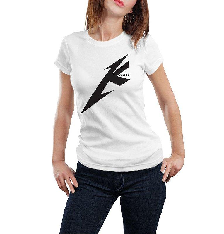 Camiseta Babylook Metal K