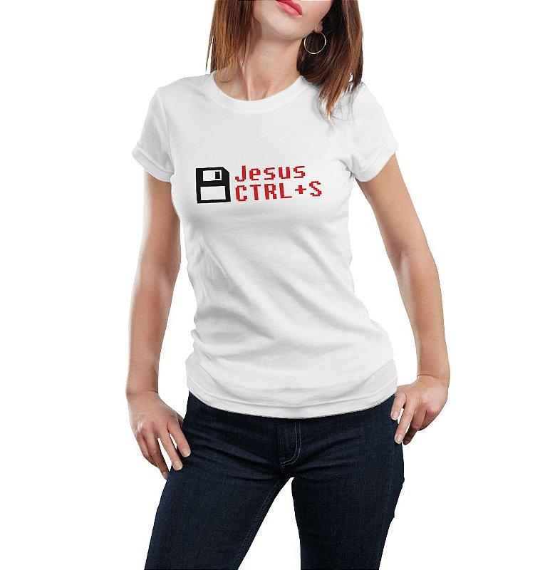 Camiseta Babylook Jesus Salva