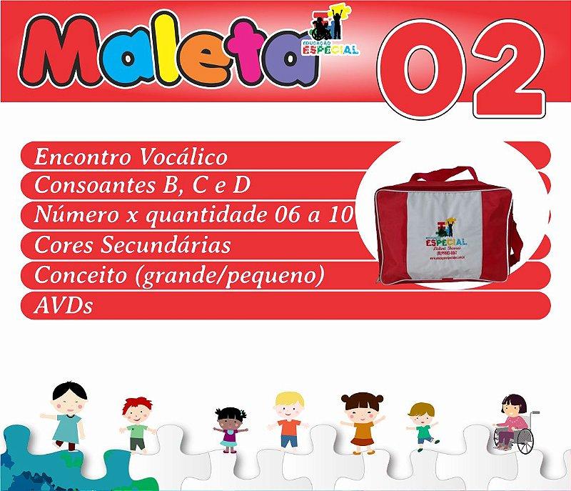 Maleta 02 - Kit com 30 Pastas