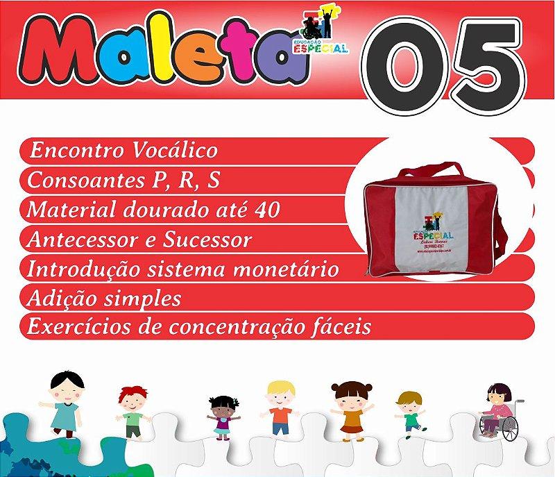 Maleta 05 - Kit com 30 Pastas